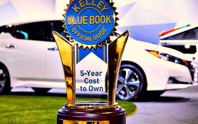 Nissan Leaf признан самым выгодным электромобилем
