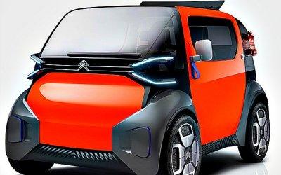 Citroen подготовил новый электромобиль Ami One Concept