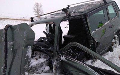 В ДТП в Троицком районе погибли трое, включая маленького ребенка