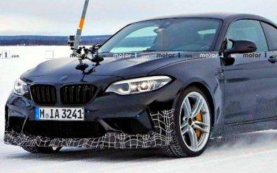 Начались испытания «заряженного» BMW M2 CS