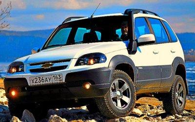Начаты продажи обновлённой Chevrolet-Niva