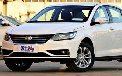 Junpai A50— китайский седан ситальянским дизайном