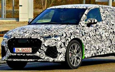 Наиспытания выехал новый Audi Q4 RS