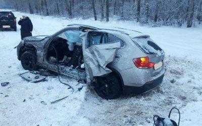 Три человека пострадали в ДТП вВеневском районе