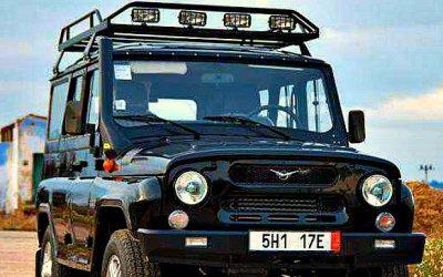 UAZ Hunter стал грузовиком