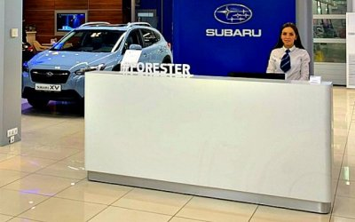 Subaru обновит офисы своих российских дилеров