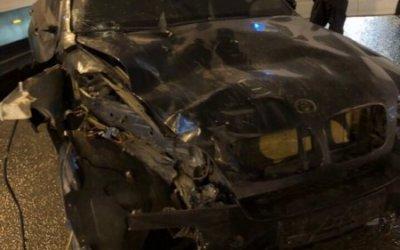 BMW на Невском сбил пешеходов на тротуаре: есть погибшие