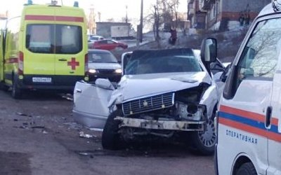 Два человека пострадали в ДТП с маршруткой в Улан-Удэ