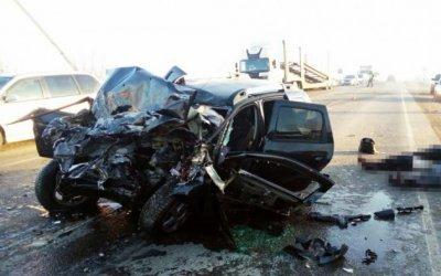 Мужчина и девушка погибли в массовом ДТП под Челябинском