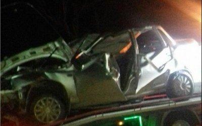 В Крыму двое подростков погибли в ДТП на угнанной машине