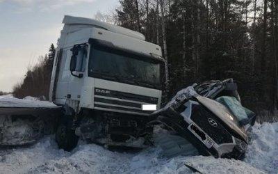 В ДТП с фурой под Качканаром погиб человек