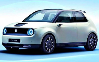 Honda покажет вЖеневе свой первый серийный электромобиль