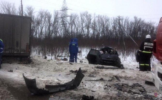 Пять человек погибли в ДТП в Волгоградской области