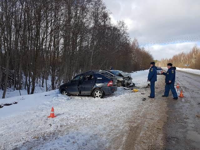 В ДТП в Рамешковском районе Тверской области погиб человек (2)