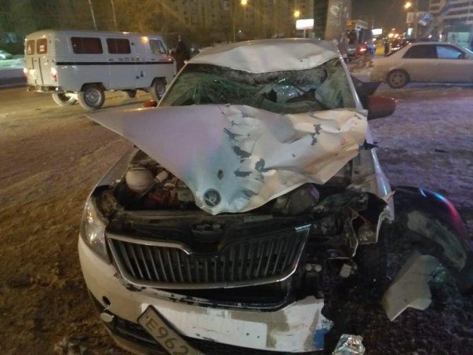 В Новосибирске иномарка насмерть сбила пешехода