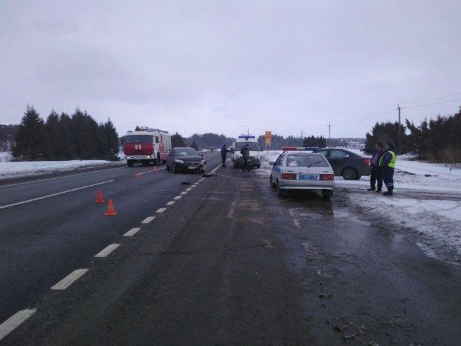 Два человека пострадали в ДТП под Вологдой (1)