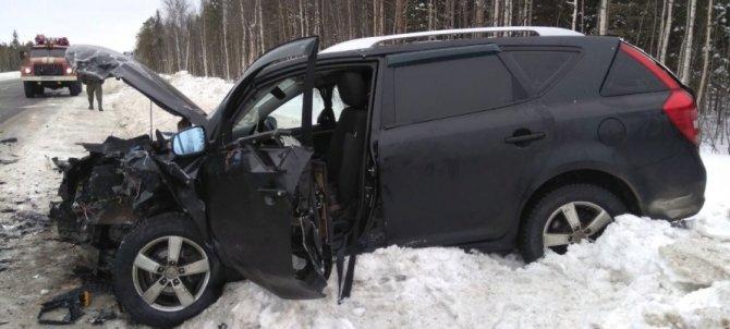 Три человека пострадали в ДТП в Карелии (2)