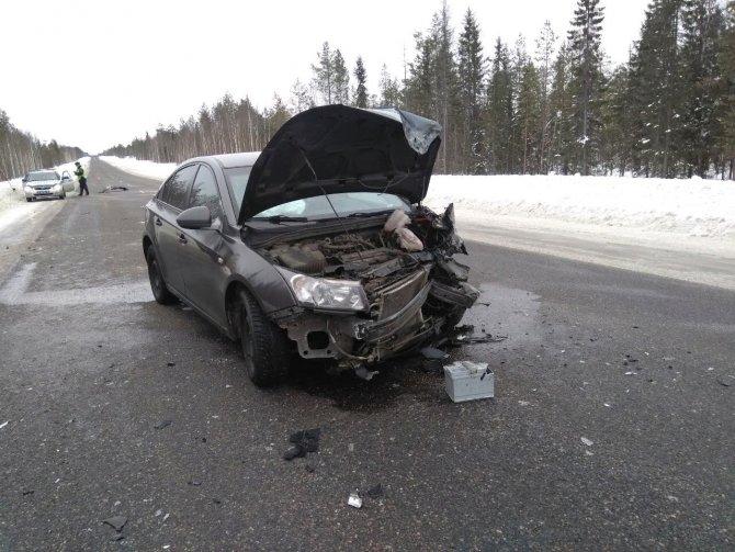 Три человека пострадали в ДТП в Карелии (1)