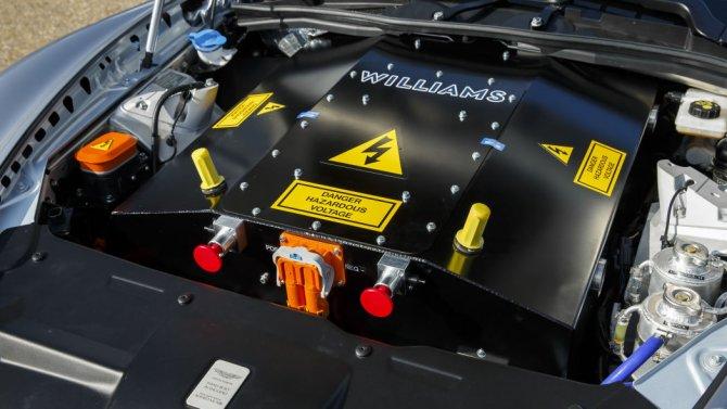 Аккумулятор Aston Martin Rapide E 1