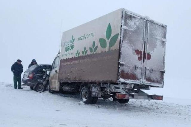 Водитель «Калины» погиб в ДТП в Башкирии (2)
