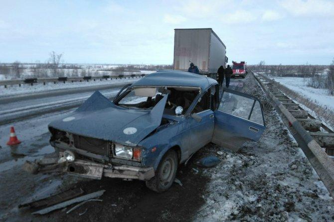 Мужчина и женщина погибли в ДТП в Челябинской области (1)