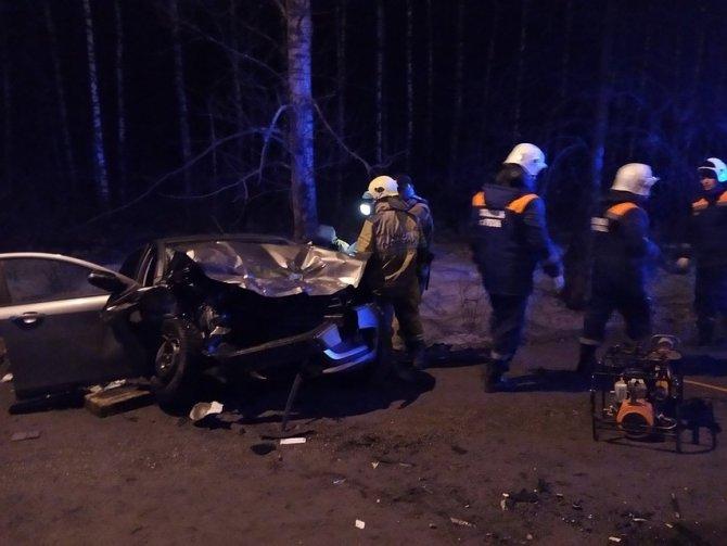 Мужчина погиб в ДТП на трассе М-5