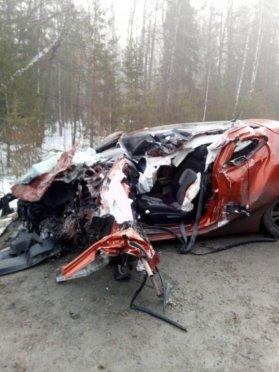 Водитель иномарки погиб в ДТП с фурой в Марий Эл