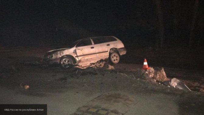 В Алтайском крае в ДТП погиб 16-летний водитель