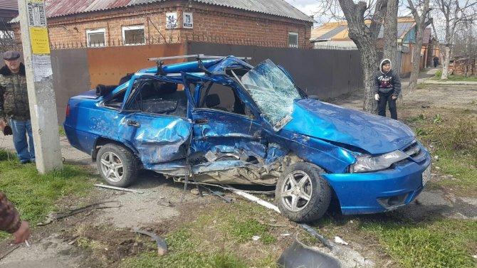 В Майкопе в ДТП пострадали пять человек (2)