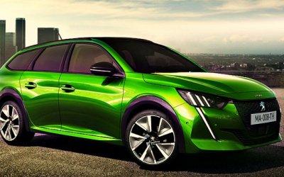 Винтернете появились изображения универсала Peugeot 208 Wagon