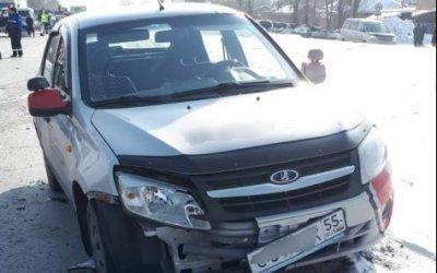 В Омске 18-летняя девушка насмерть сбила пешехода