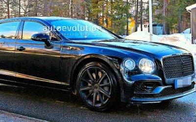 Завершаются испытания нового Bentley Flying Spur
