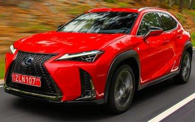 ВРоссию приехал новый Lexus