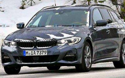 ВШвеции замечен новый BMW 3-Series Touring