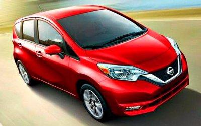 Nissan снимет спроизводства хэтчбек Versa Note