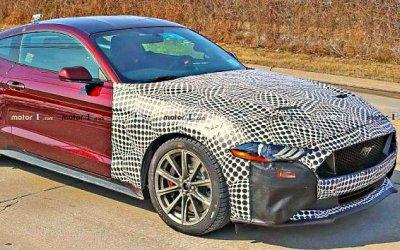 ВСША испытывается гибридный Ford Mustang