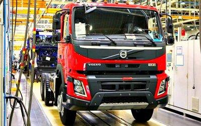 ВРоссии растут продажи грузовиков Volvo
