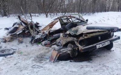 Два человека погибли в лобовом ДТП в Лысковском районе