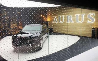 Седан и лимузин Aurus впервые показали в Европе - говорят, что удачно