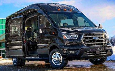 Ford Transit: довольно странный рестайлинг