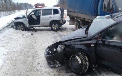 Две женщины погибли в ДТП в Великоустюгском районе