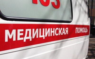 В центре Саратова автобус сбил девушку