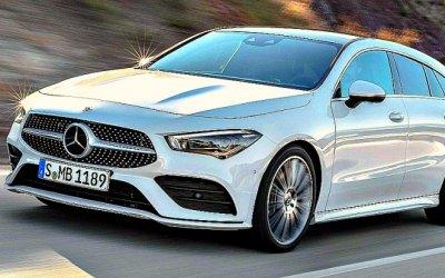 Mercedes-Benz CLA стал спорт-универсалом