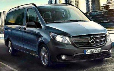 ВРоссии начались продажи нового Mercedes-Benz Vito Life