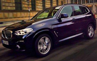 Представлен гибридный кроссовер BMW X3