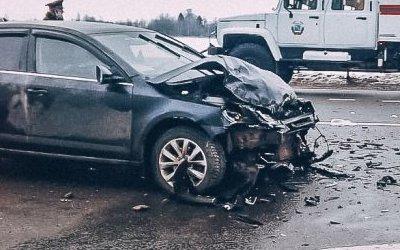 Три человека пострадали в ДТП в Лодейнопольском районе Ленобласти