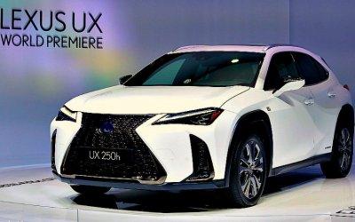 Женева-2019: Lexus представил новый кроссовер