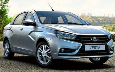 Снизились продажи Lada Vesta