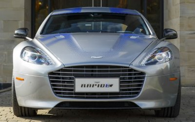 Джеймс Бонд сядет за руль электрического Aston Martin Rapide E - будет бороться за экологию