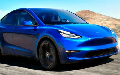 Представлен электрокроссовер Tesla Model Y